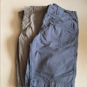 Men's A&E shorts size 28